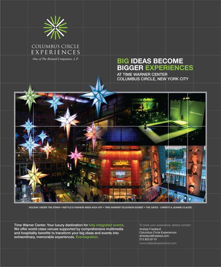 Columbus Circle Experiences ad